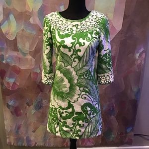 Milly New York Beaded Cotton Dress Size 2
